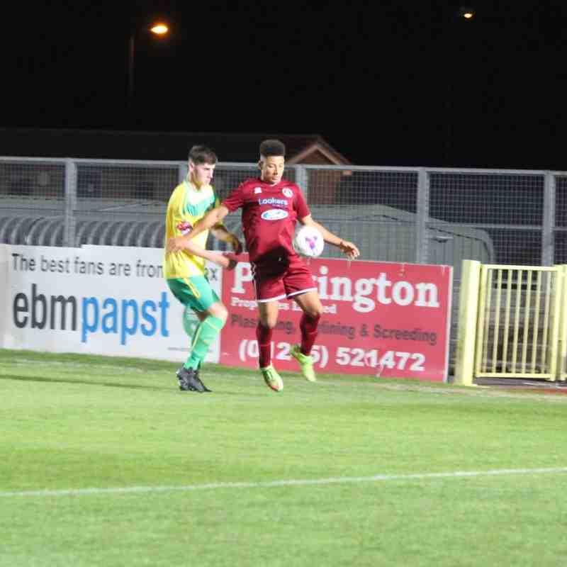 Chelmsford U18 V Thurrock U18 YFA Cup