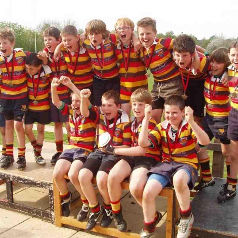 U11s - County Festival Shield Winners April 2011