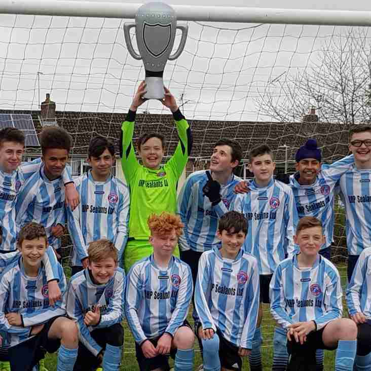 FC Bracknell U14 Youth Division 5 Champions