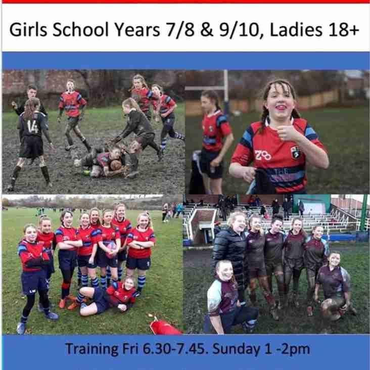 Girls & Ladies Rugby