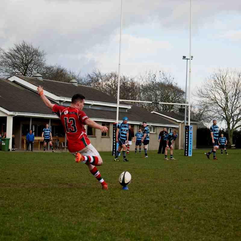 Ballymoney 2nds v Larne 2nds - Crawford Plate Semi Final
