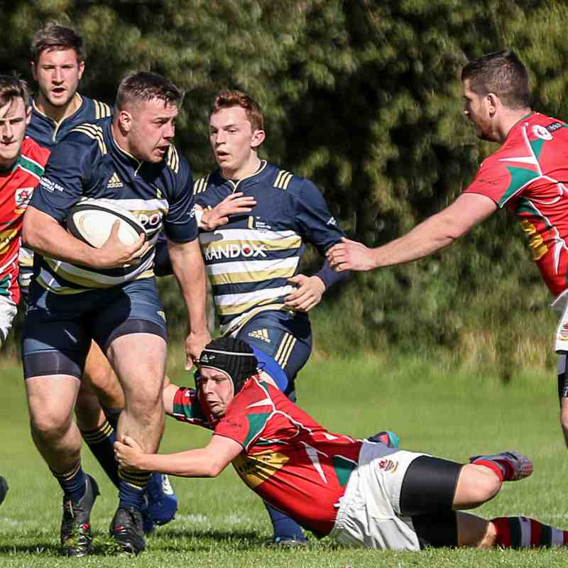 UUC v Larne 1sts - Pictures by The Front Row Union 22/9/18