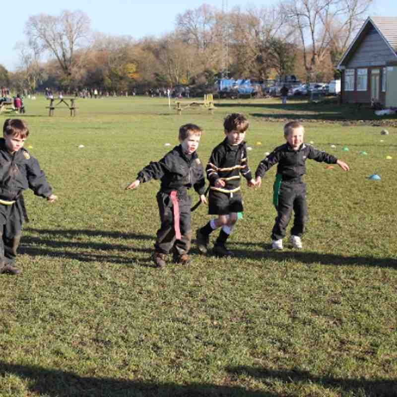 Marlow Minis at Aylesbury 18 Nov 2012