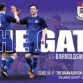NEXT UP: Squires Gate v Barnoldswick Town