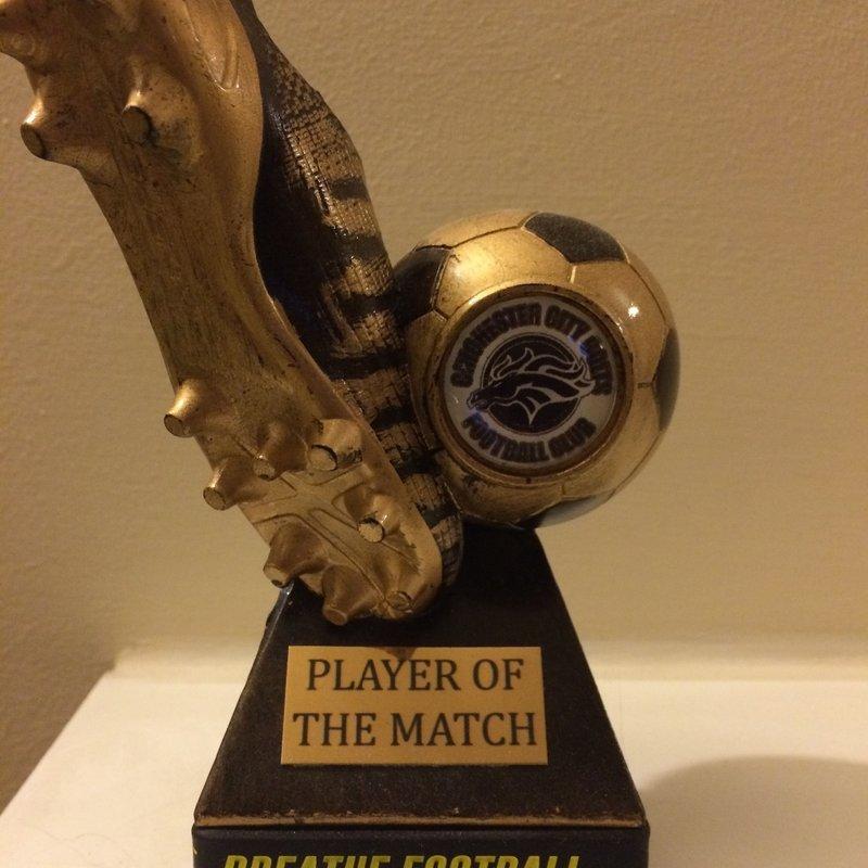 Man of the Match Award - Chichester City Colts U13 v Selsey U13