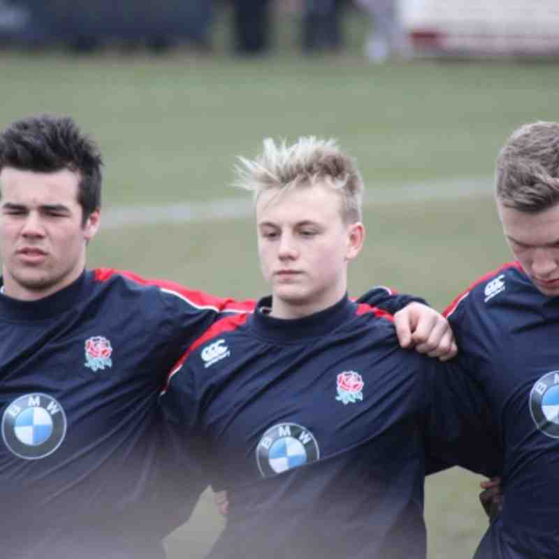 Joe Mullis England Under 16s