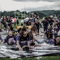 Slide and Slide fun at Rebels Rugby Hub - Valkyries and Rebels - 28/07/2019