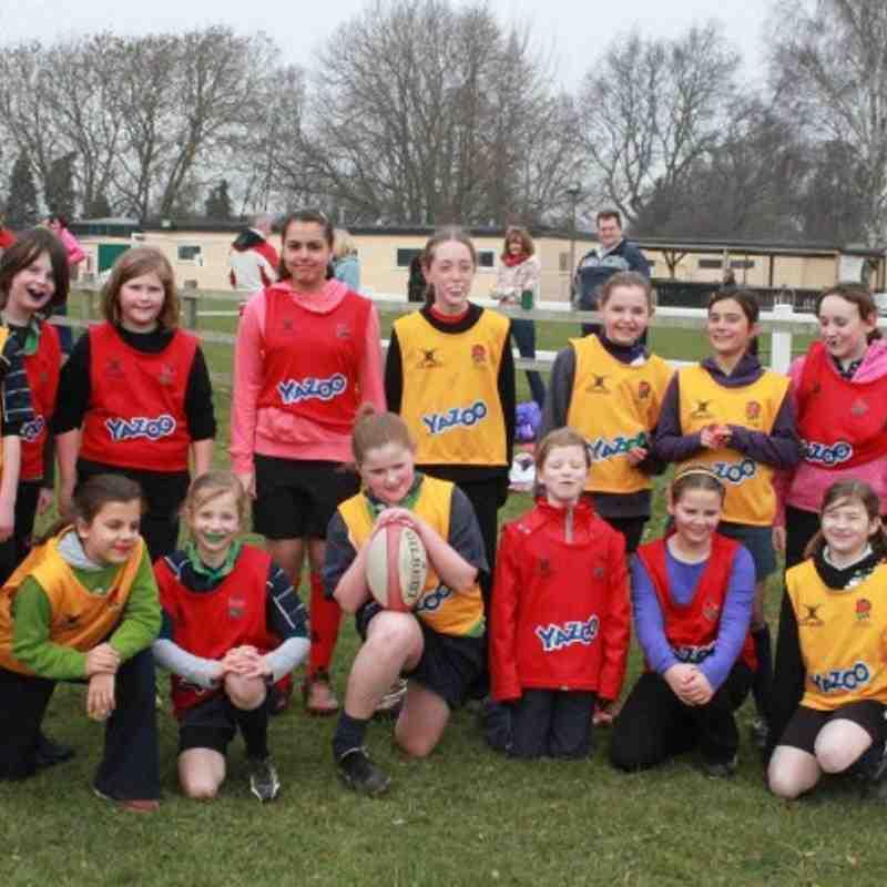 Abbey Girls v Newbury Girls 27.3.11