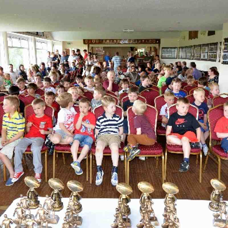 Wigan U6's, U7's, U8's & U9's Presentation Day