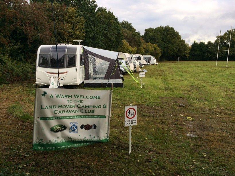Land Rover Caravan Club News Keresley Rfc