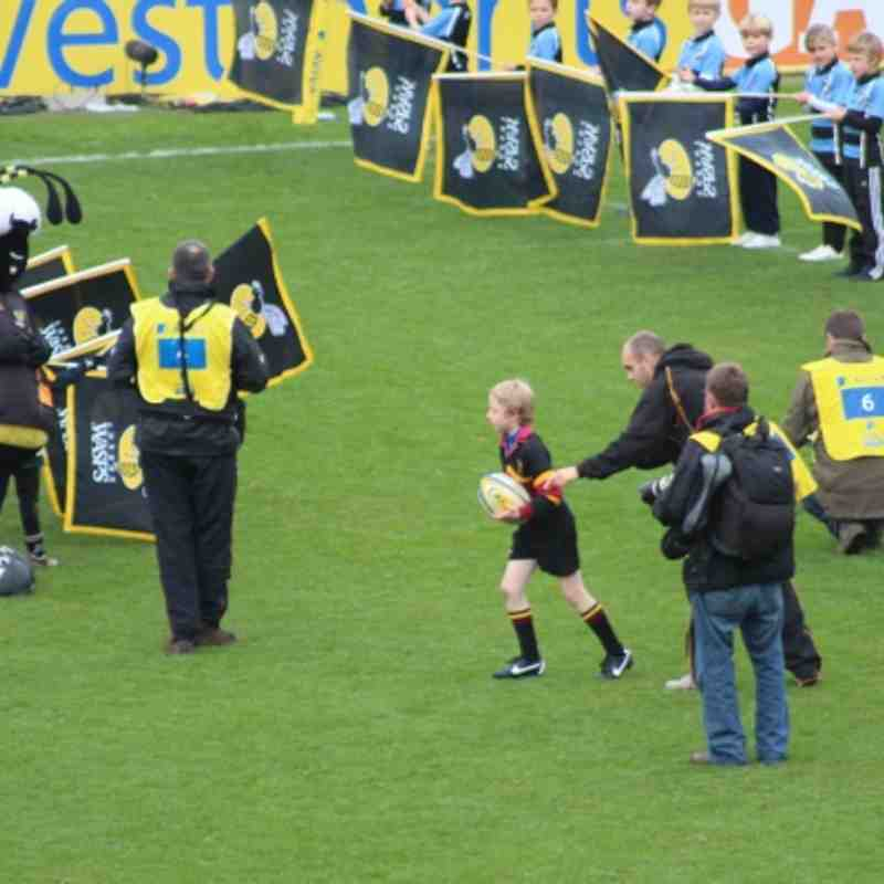 U9 Fred Clement at Wasps