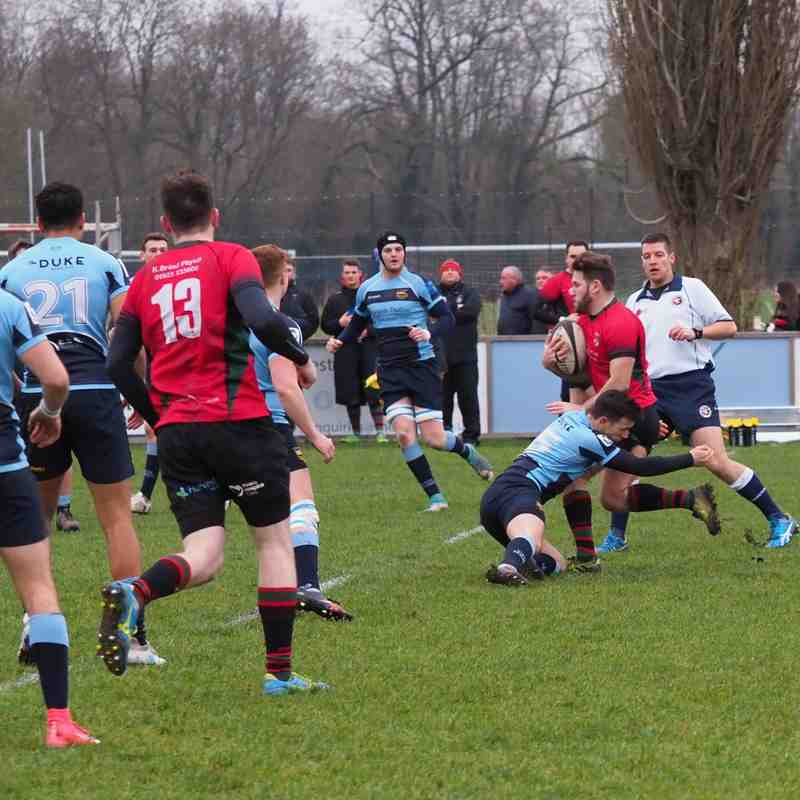 EM v Old Fullerians 05/01/2019 - Club photos - Eton Manor RFC