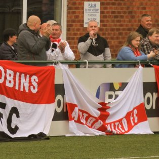 Fan power drives the lads home