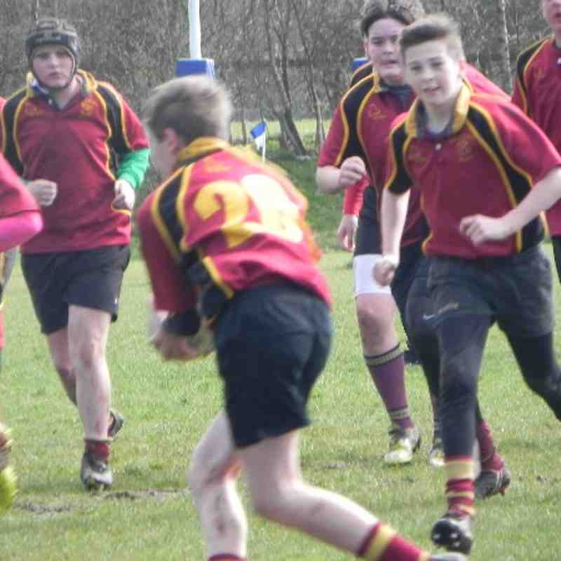 Under 14's Leek v Willenhall 23rd March 2014