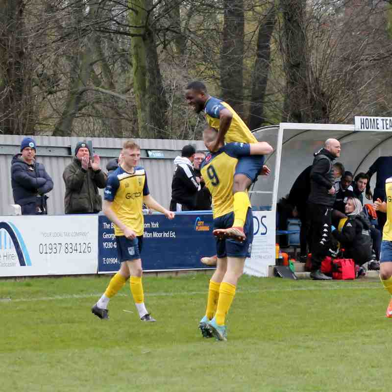 Taddy Albion v Workington 2019 20