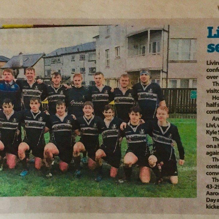 Livi RFC 'Livi youth end season on high'<