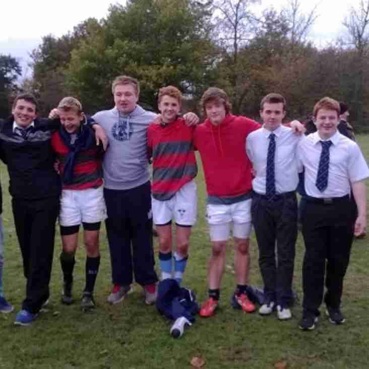 Newark Under 15's at the County Cup