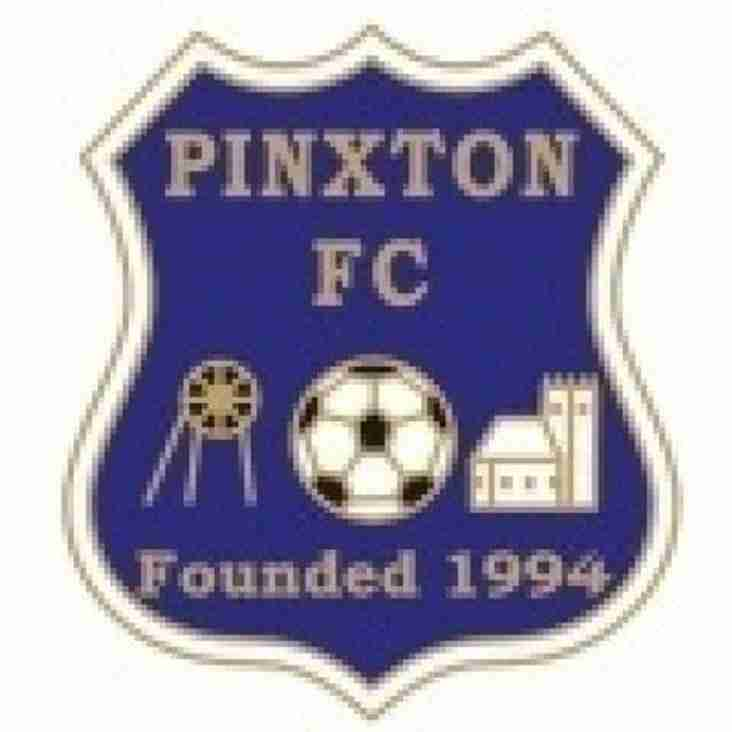 PINXTON FC v ARNOLD TOWN FC