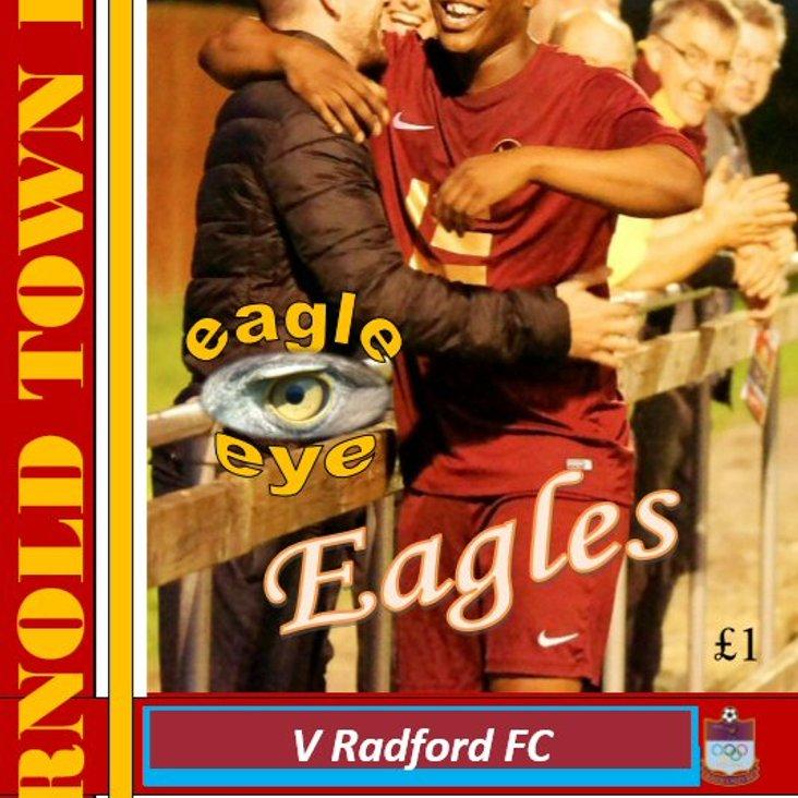 ARNOLD TOWN v RADFORD FC<