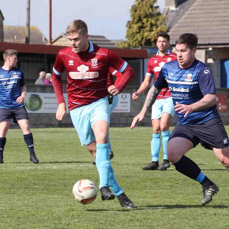 AFC Emley 5-0 Shirebrook Town