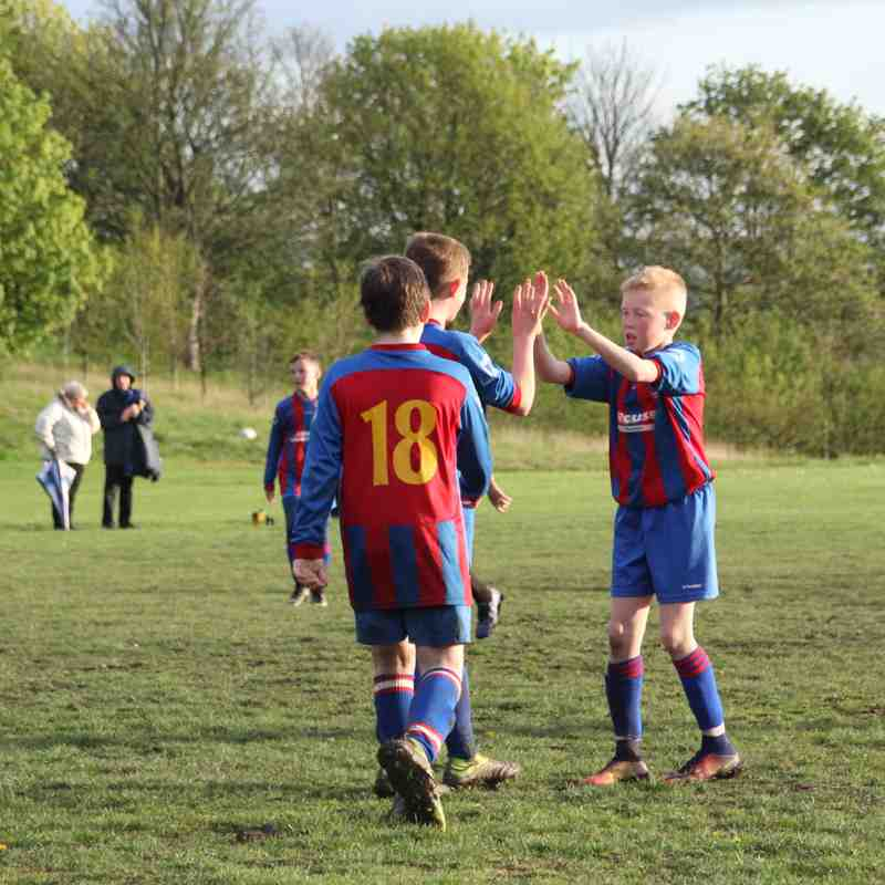 Thornes Juniors U12 vs Rothwell Juniors U12