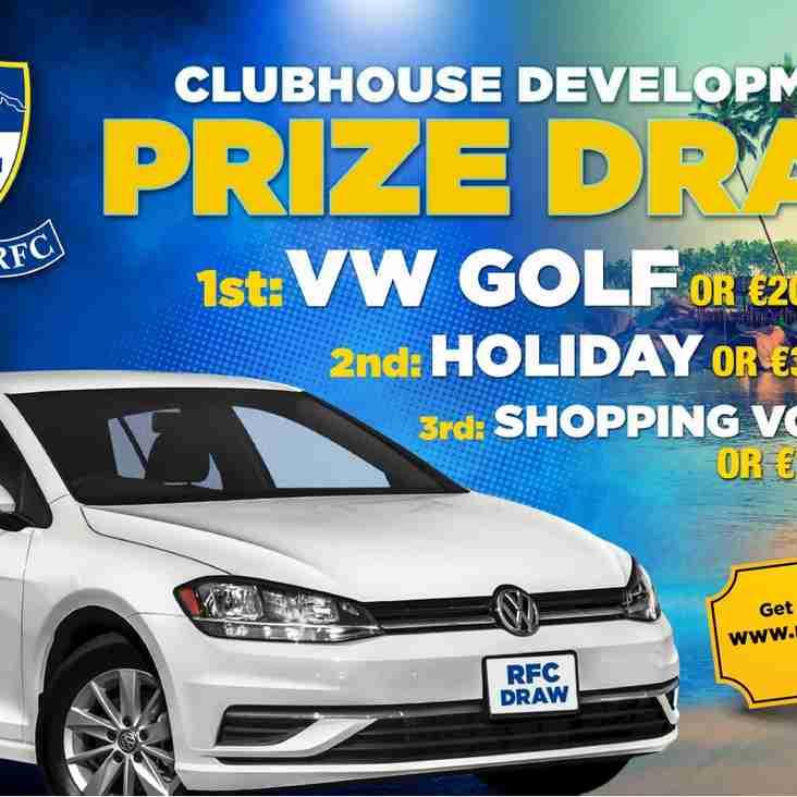 Clubhouse Development Car Draw