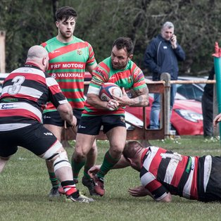 DUNVANT EDGE THE WIN AGAINST A DETERMINED LLANGENNECH DEFENCE