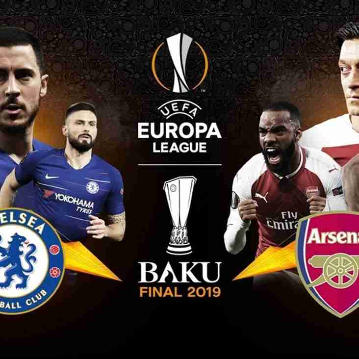 CLUB OPEN TONIGHT FOR EUROPA LEAGUE FINAL (29th May)