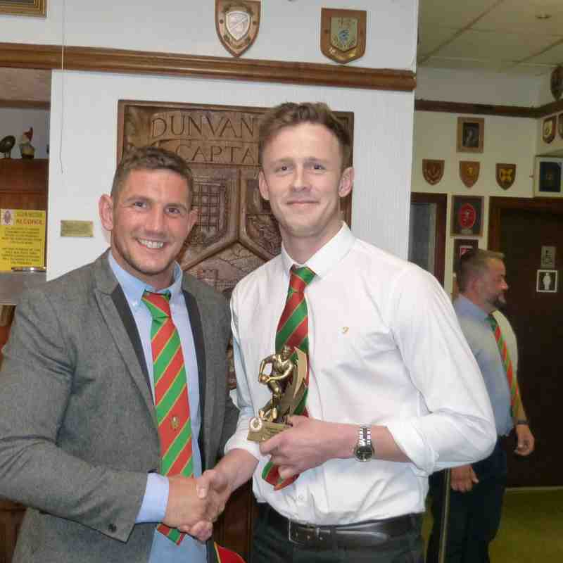 1stXV-Players' Player of the Year: Sam Hawkes