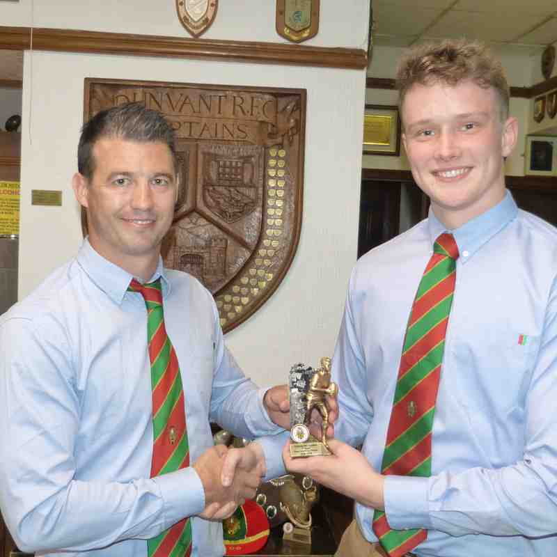 1st XV-Most Improved Player: Morgan Bevan