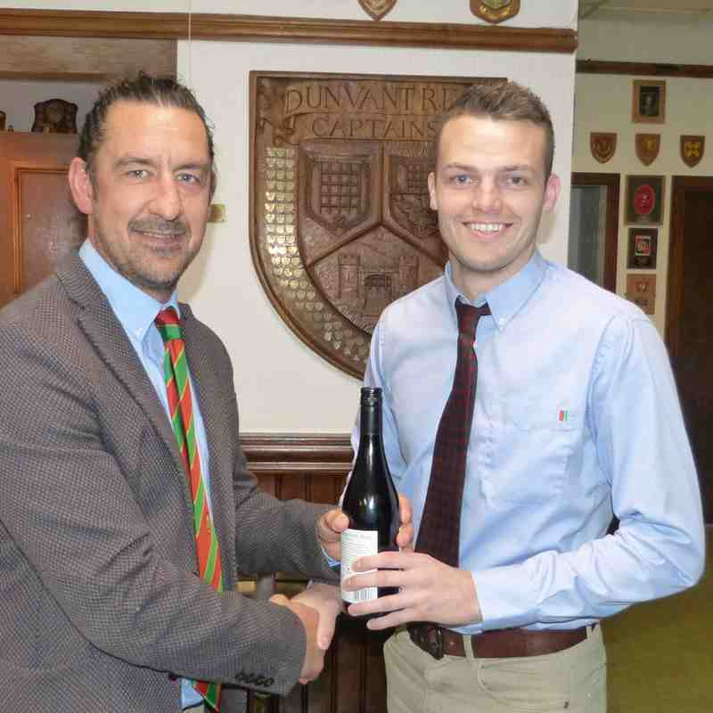 1stXV-Most Tries: Adam Williams-Parry