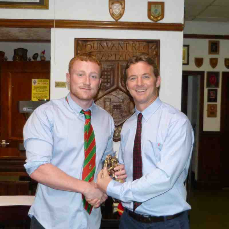 2ndXV Young Player of the Year:Cory Bennett