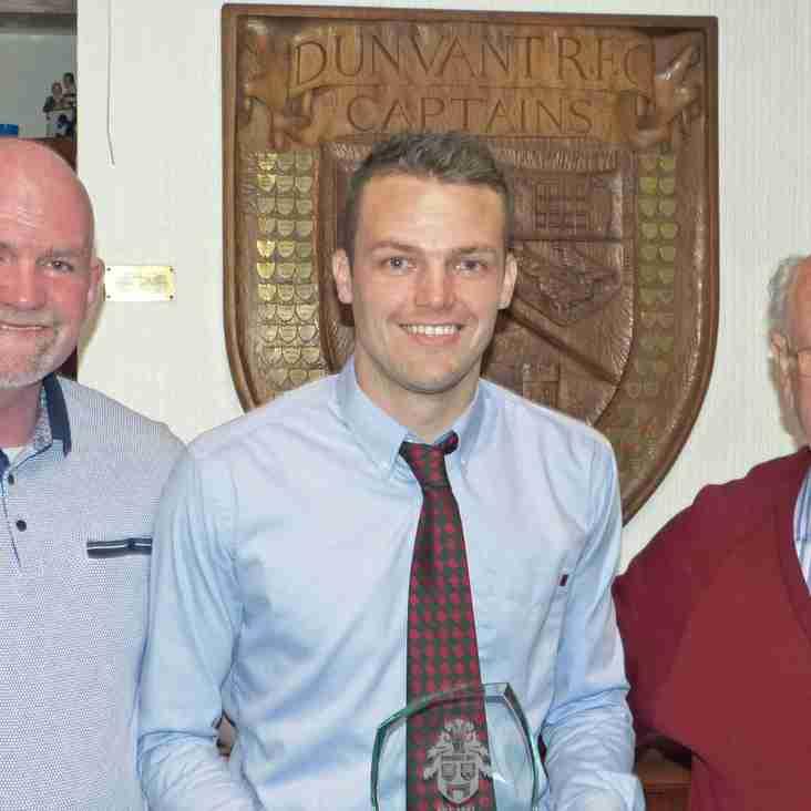 Special Achievement Award for Dunvant RFC Star Player