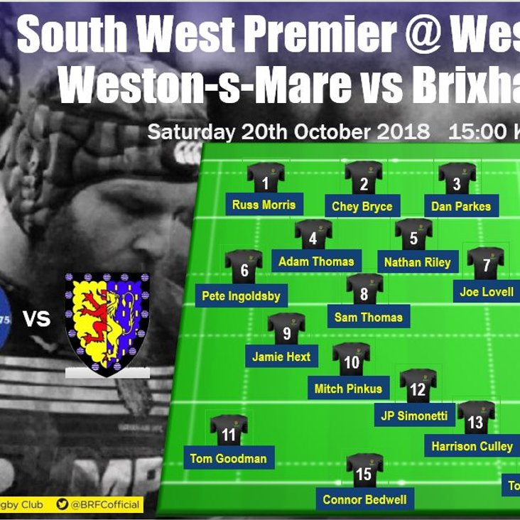 First XV travel to Somerset and Weston-super-Mare this Saturday<