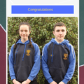 Well done Lara & Conor