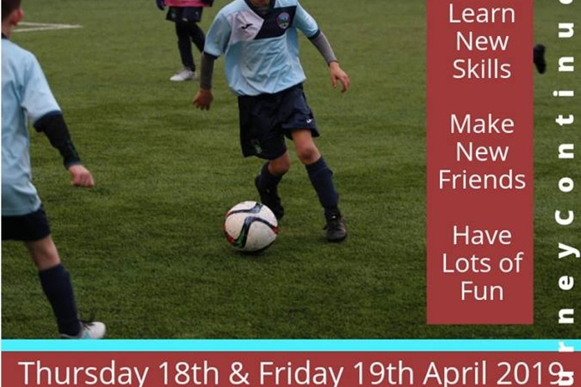 EASTER FOOTBALL FOR EVERYONE - Community Soccer School - Boys & Girls