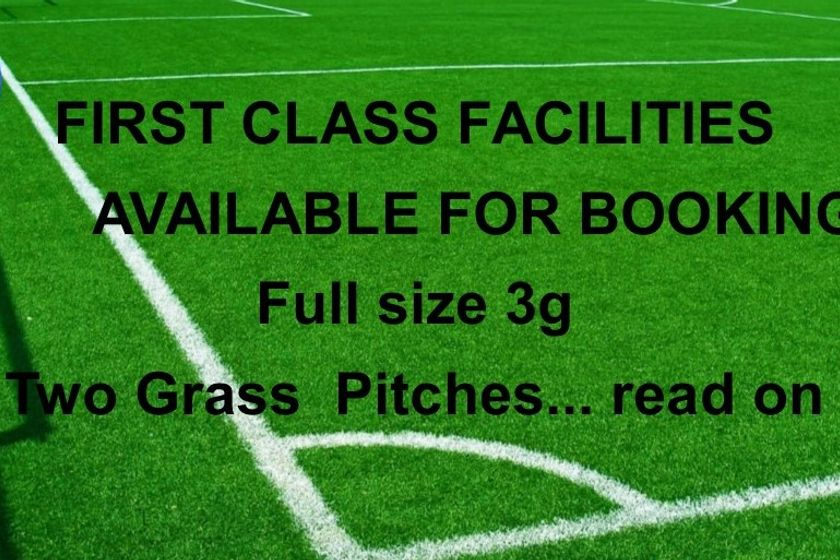 Facilities available for Hire