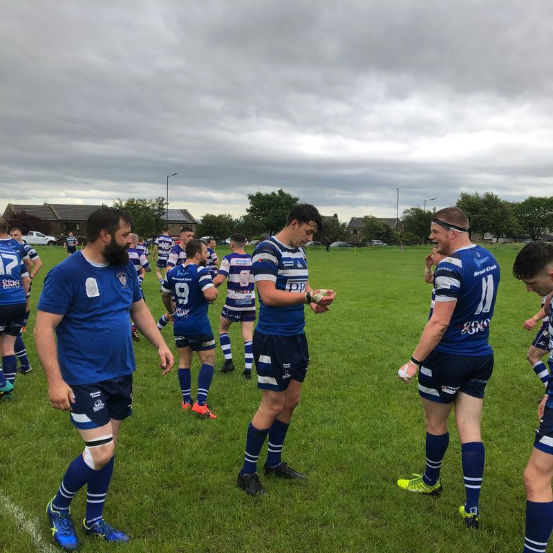 Bury celebrate return to village rugby with a hard-fought win over Siddal