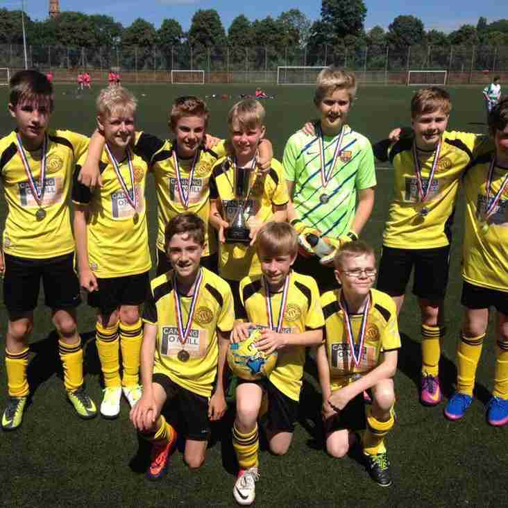 Queensgate Under 12's: Respect League Foundation Cup Winners
