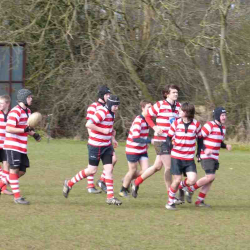 U15's v away at Leicester Vipers