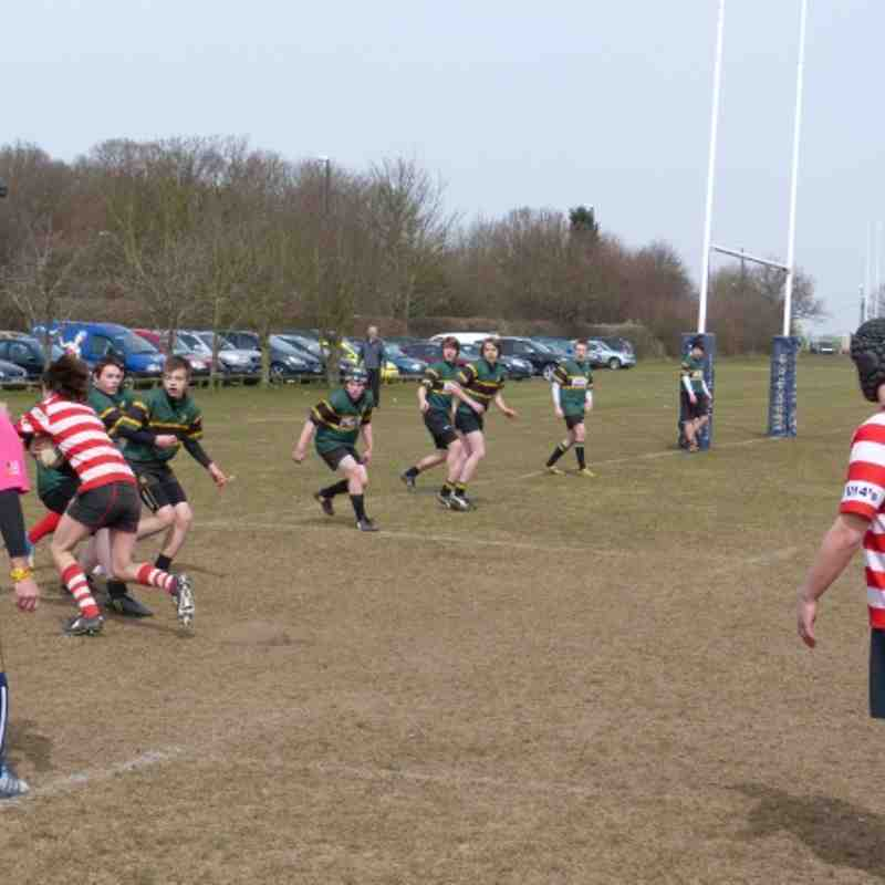 U15's Home to Leicester Vipers