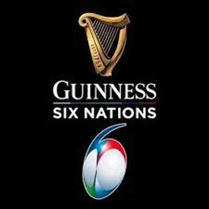 Saturday 9th March - Six Nations Live @ HHCC!
