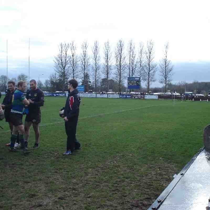 Seapoint 1st XV v Ballymena RFC - 1st Marc 2014