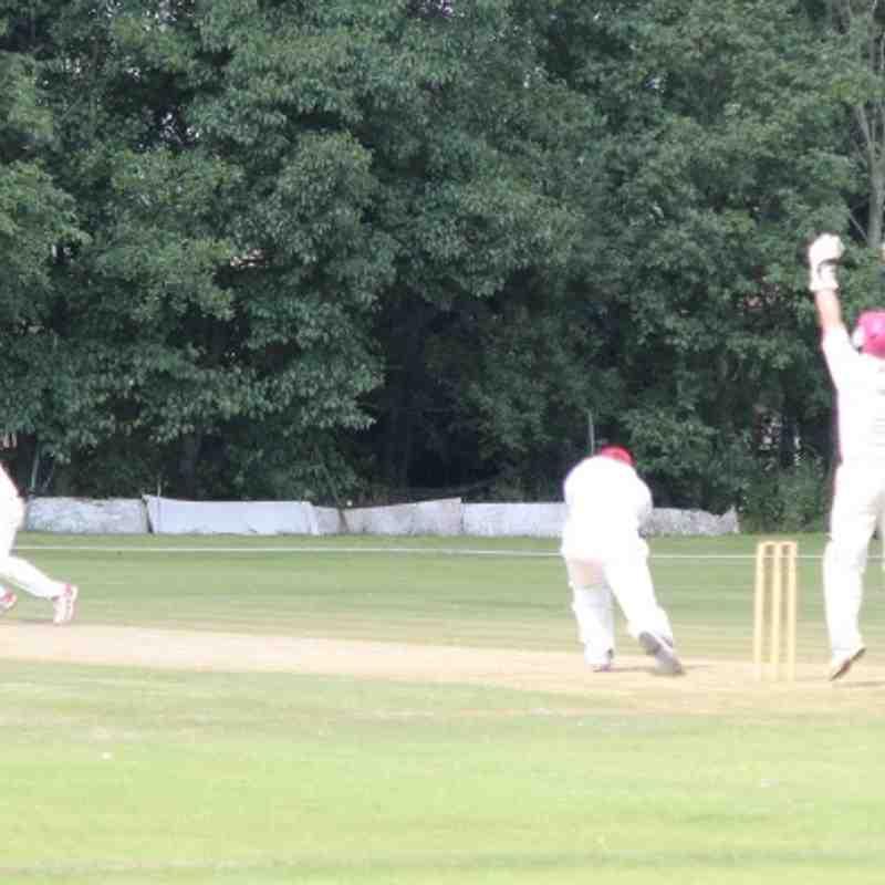 1st Team v Leek - 26th July 2014.