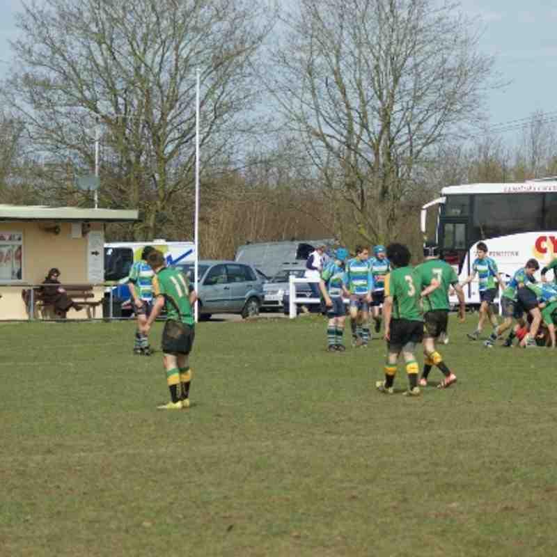 14 April '13 Abbey v Bracknell U15's