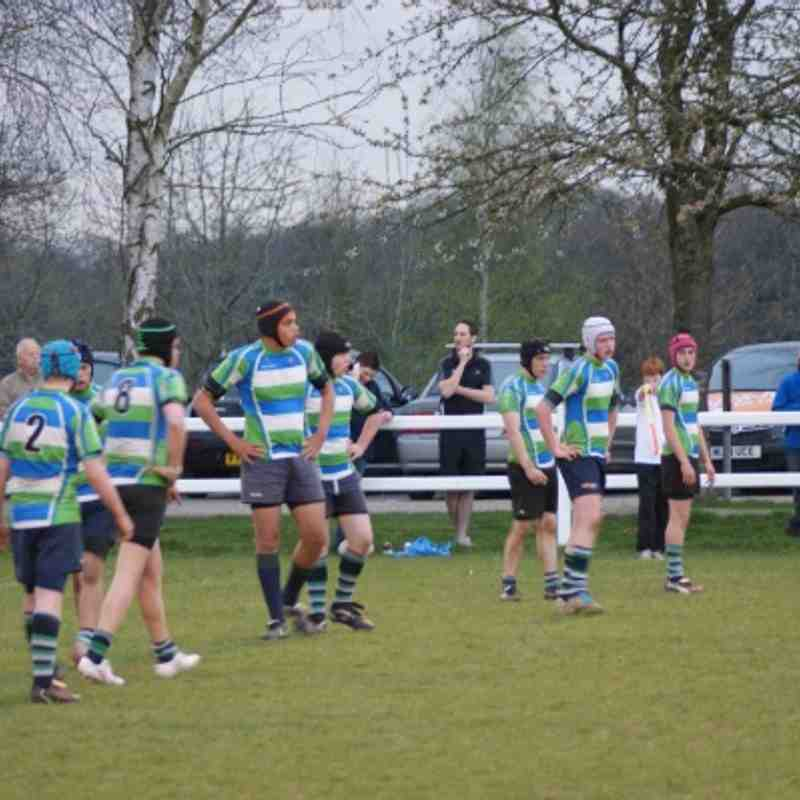 24 April '13 Abbey v Reading U15's