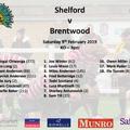 1st XV v Brentwood