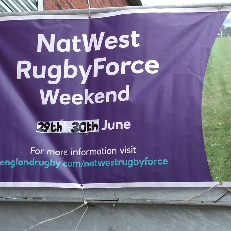 Natwest  Rugby force helpers