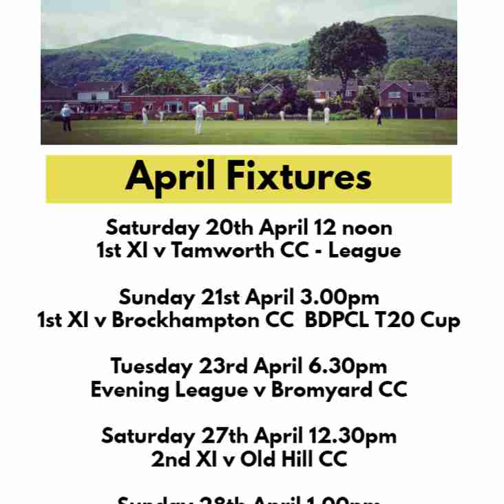 Busy two weeks of fixtures to start the season