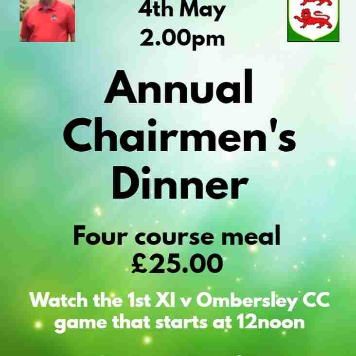 Annual Chairman's Dinner